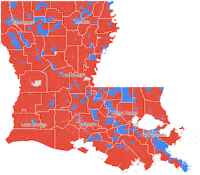 Louisiana And New Orleans Election Results